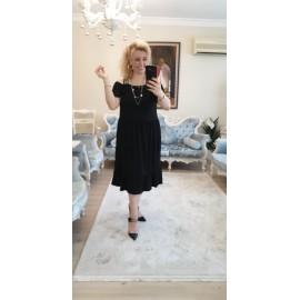 Askılı Penye Elbise
