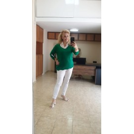 Yeşil Gömlek Triko